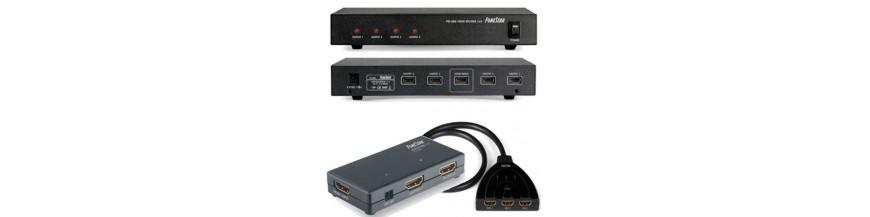 Selectores y splitters HDMI